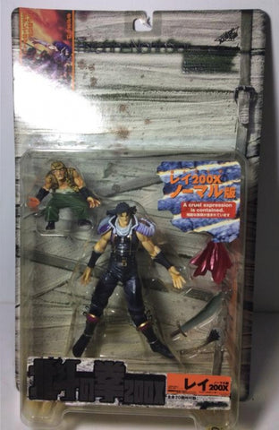 Kaiyodo Fist of The North Star 200X Rei Black Hair Ver Action Figure
