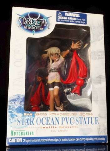 Kotobukiya 2003 Star Ocean Till the End of Time Souffle Rossetti Pvc Figure