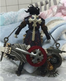 "Kaiyodo Gungrave 8"" Action Figure Used"