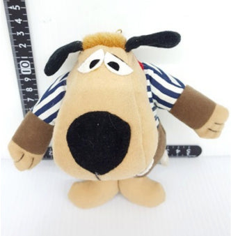 "Wacky Races 5"" Mascot Strap Plush Doll Figure Used"