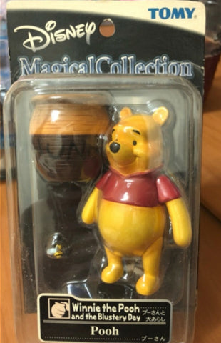 Tomy Disney Magical Collection 028 Winnie The Pooh And The Blustery Day Pooh Trading Figure