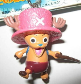 Banpresto One Piece Mascot Collection Key Chain Holder Strap Tony Tony Chopper Figure