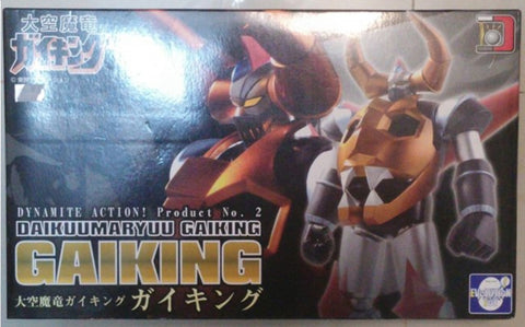 Evolution Toy Dynamite Action No 2 Kaiyuumaryuu Gaiking Kaiyu Maryu Gaiking Black Limited Edition Figure