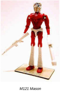 Takara Microman Reissue Series M121 Mason Action Figure