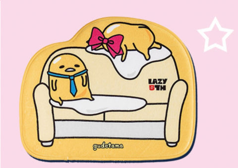 Sanrio Gudetama Legends Of Lazy Taiwan Watsons Limited Bathroom Carpet Type A