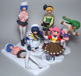 Millennium DGP Digital Gals Paradise Gashapon Snow 5+1 Secret 6 Mini Trading Figure Set - Lavits Figure  - 1