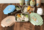 San-X Taiwan 7-11 Limited Sumikko Gurashi 3 304 Stainless Steel Lunchbox Set