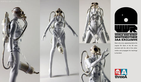 "ThreeA 3AA Toys 1/6 12"" WWR Ashley Wood Supreme Nom Whitemother Action Figure - Lavits Figure  - 1"