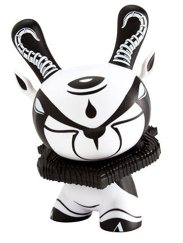 "Kidrobot 2013 Colus Havenga Dunny The Hunted Black & White Ver 8"" Vinyl Figure - Lavits Figure"