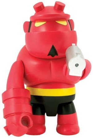 "Toy2R Mike Mignola Hellboy Qee Collection Red Ver 8"" Vinyl Figure - Lavits Figure  - 1"