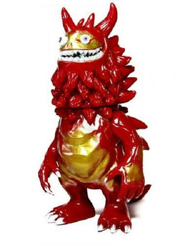 "Intheyellow 2008 T9G Rangeas Kaiju Red Gold Ver. 7"" Vinyl Figure - Lavits Figure"