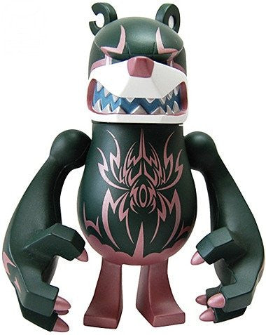 "Wonderwall 2008 Touma Knuckle Bear Lightning Spider Black Ver. 6"" Vinyl Figure - Lavits Figure"