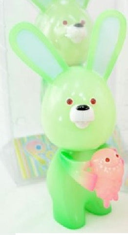 "Instinctoy BanaNa ViruS Pandemic Bunny Rabbit Green Ver 8"" Vinyl Figure - Lavits Figure"
