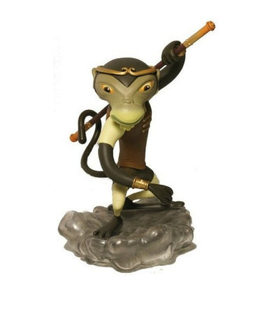 "2008 Nathan Jurevicius Munky King Monkey King Earth Brown Ver 8"" Vinyl Figure - Lavits Figure"
