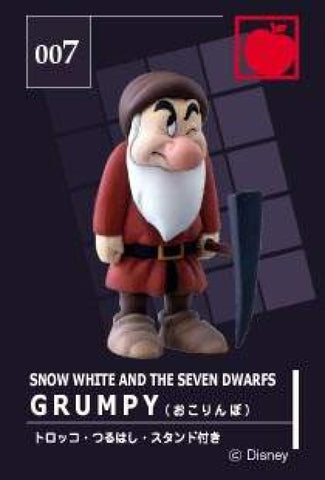 Tomy Disney Magical Collection 007 Snow White And The Seven Dwarfs Grumpy Trading Figure - Lavits Figure