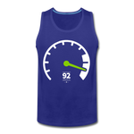 Load image into Gallery viewer, Tachometer Tank - royal blue