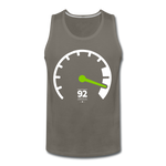 Load image into Gallery viewer, Tachometer Tank - asphalt gray
