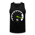Load image into Gallery viewer, Tachometer Tank - charcoal gray