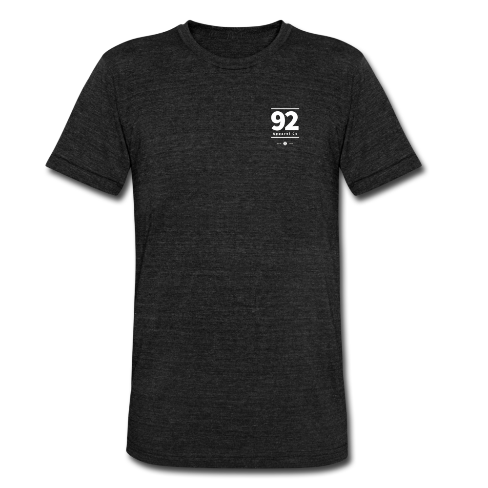 92 Apparel Signature Tee - heather black