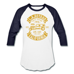 Load image into Gallery viewer, Hot Rod Baseball Tee - white/navy