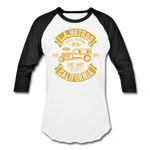 Load image into Gallery viewer, Hot Rod Baseball Tee - white/black