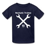 Load image into Gallery viewer, Mechanic Trainee Kids Tee - navy