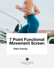 7 Point Functional Movement Screen
