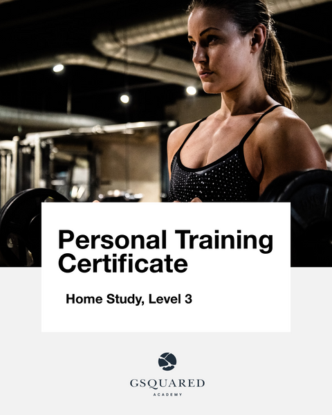 Personal Training Certificate (Level 3)