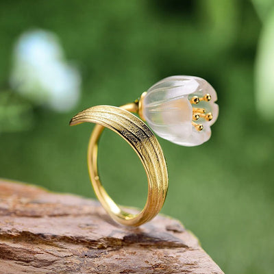 Lily of the Valley Good Luck Ring