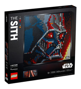 LEGO Art Star Wars, Die Sith (31200)