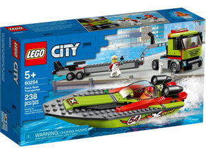 LEGO City Rennboot-Transporter (60254)