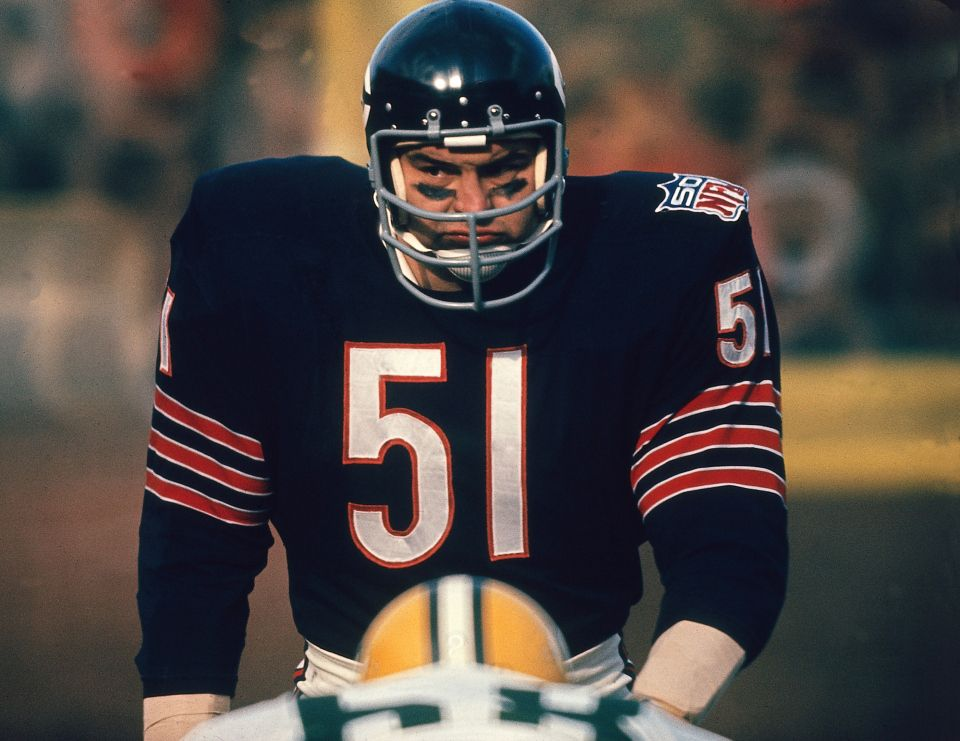 10 Best Chicago Bears Linebackers of All Time