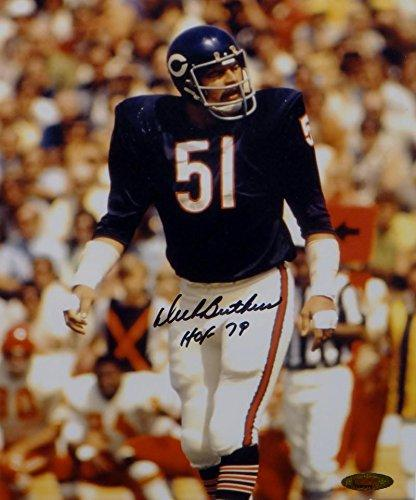 "8 ""X 10"" PHOTO OF DICK BUTKUS (Picture, Signed, Personalized)"