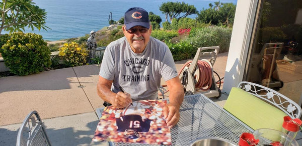 "16"" X 20"" PHOTO OF DICK BUTKUS (Picture, Signed, Personalized)"