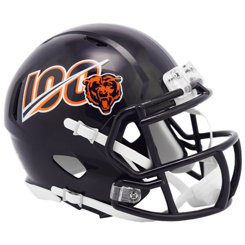 BEARS 100TH SEASON MINI HELMET (Helmet, Signed, or Personalized)