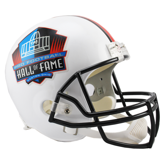PRO FOOTBALL HALL OF FAME REPLICA HELMET (Helmet, Signed, or Personalized)