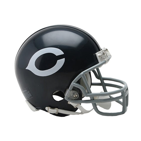 BEARS MINI THROWBACK HELMET 62-73 (Helmet, Signed, or Personalized)
