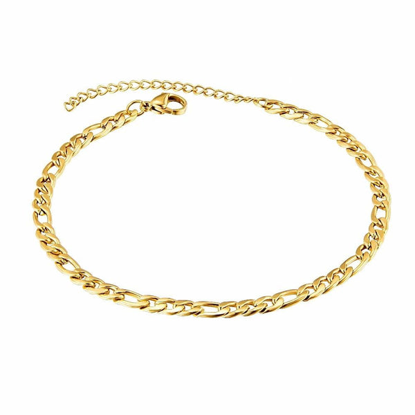 The Figaro Anklet - Zyphyr Jewelry ANKLETS