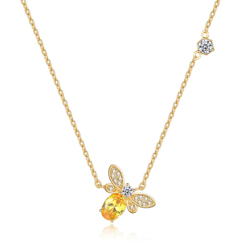 Bumble Yellow Necklace