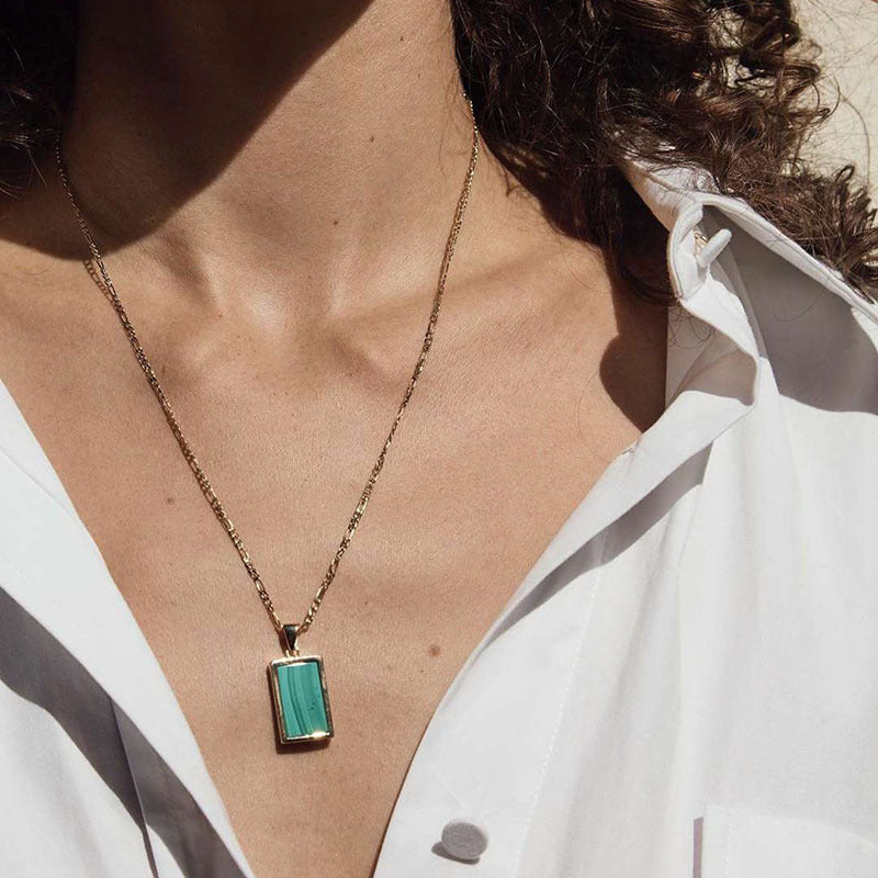 Love Stone Necklace - Zyphyr Jewelry NECKLACES