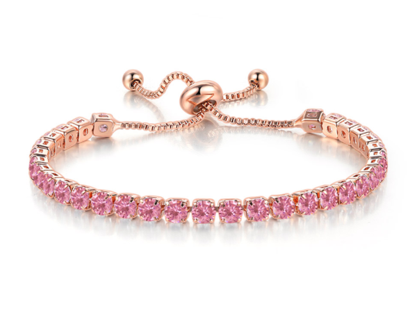 The Pink Tennis Bracelet - Zyphyr Jewelry BRACELETS