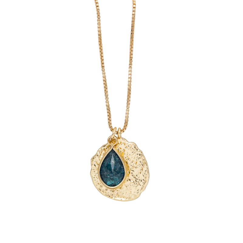 The Glass Drop Necklace - Zyphyr Jewelry PENDANTS
