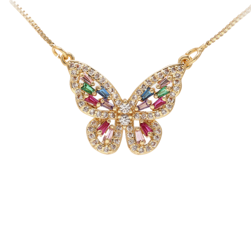 Enchanted Butterfly Necklace - Zyphyr Jewelry PENDANTS
