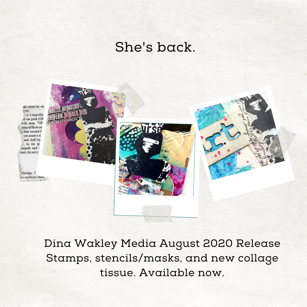 August 2020 Dina Wakley Media Product Release Now Available