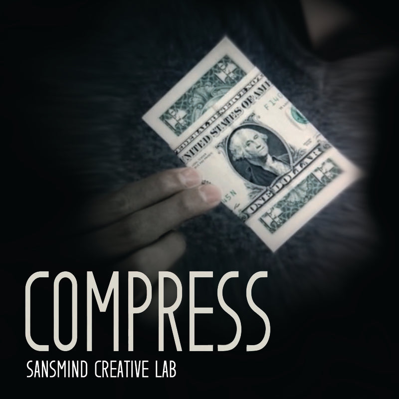 Compress - SansMinds Creative Lab - The Online Magic Store