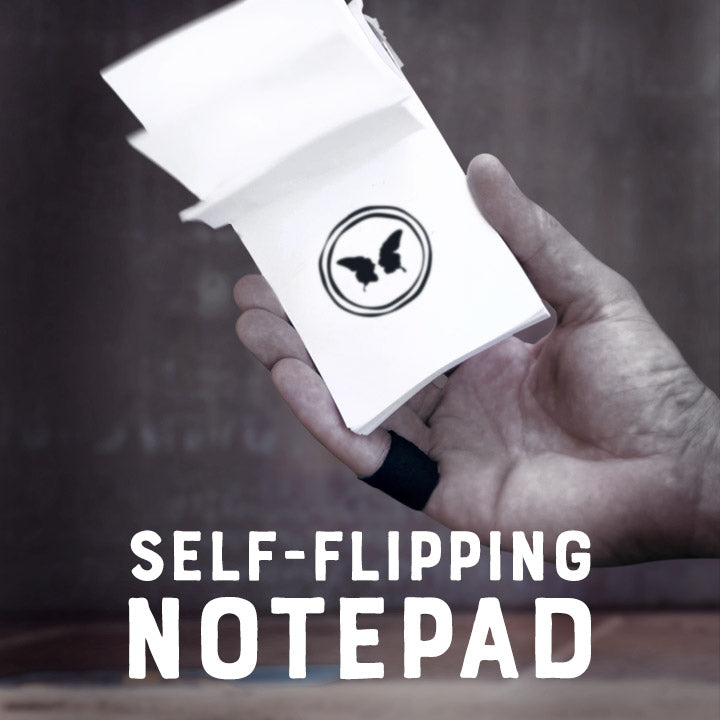 Self-Flipping Notepad - Victor Sanz - The Online Magic Store