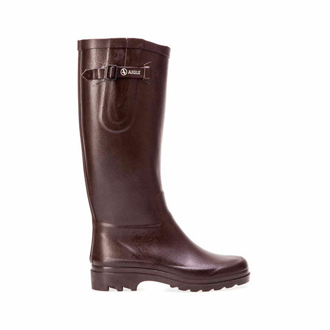 Women's Aiglentine Rubber Boot, Brown