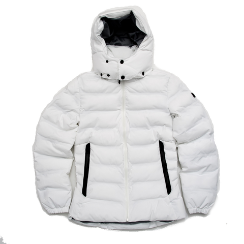 Rigdown Short Parka, White