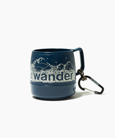 And Wander x Dinex Travel Mug, Navy