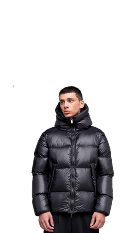 Barry Down Jacket, Black